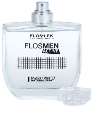 FlosLek Laboratorium FlosMen Active туалетна вода для чоловіків 4
