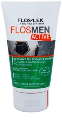 FlosLek Laboratorium FlosMen Active gel de curatare pentru piele sensibila si iritabila