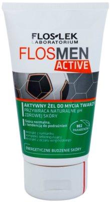FlosLek Laboratorium FlosMen Active Reinigungsgel  für empfindliche und irritierte Haut