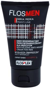 FlosLek Laboratorium FlosMen creme de rosto revitalizante com efeito antirrugas