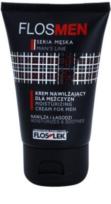 FlosLek Laboratorium FlosMen vlažilna in pomirjujoča krema za suho in razdraženo kožo