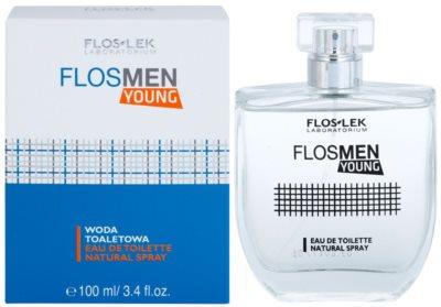 FlosLek Laboratorium FlosMen Young eau de toilette férfiaknak