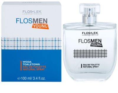 FlosLek Laboratorium FlosMen Young toaletna voda za moške