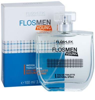 FlosLek Laboratorium FlosMen Young eau de toilette férfiaknak 2