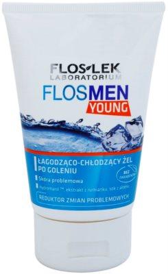 FlosLek Laboratorium FlosMen Young gel apaziguador after shave