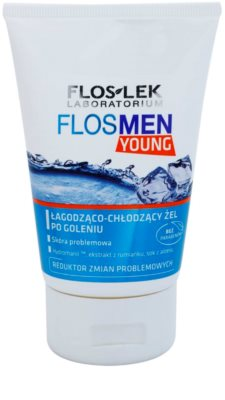 FlosLek Laboratorium FlosMen Young gel calmant after shave