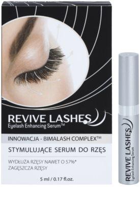 FlosLek Laboratorium Revive Lashes stimulierendes Serum für Wimpern- und Augenbrauenwachstum 2