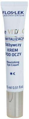 FlosLek Laboratorium Re Vita C 40+ creme de noite nutritivo para o contorno dos olhos