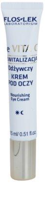 FlosLek Laboratorium Re Vita C 40+ hranilna nočna krema za predel okoli oči