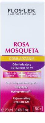 FlosLek Laboratorium Rosa Mosqueta Rejuvenation 50+ verjüngende Augencreme 2