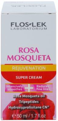FlosLek Laboratorium Rosa Mosqueta Rejuvenation 50+ intensive, hydratisierende Creme mit Antifalten-Effekt 2
