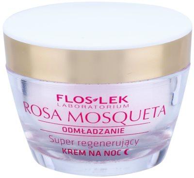 FlosLek Laboratorium Rosa Mosqueta Rejuvenation 50+ crema de noapte intensiva pentru regenerare