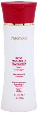 FlosLek Laboratorium Rosa Mosqueta Rejuvenation 50+ tónico hidratante
