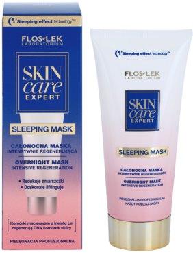 FlosLek Laboratorium Skin Care Expert Intensiv-Maske für die Nacht mit regenerierender Wirkung 1