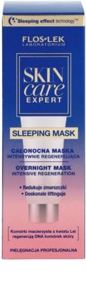 FlosLek Laboratorium Skin Care Expert Intensiv-Maske für die Nacht mit regenerierender Wirkung 2