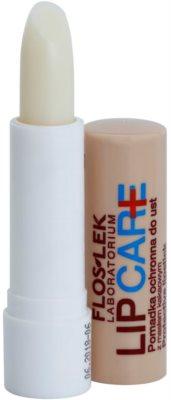 FlosLek Laboratorium Lip Care SOS bálsamo protector labial  con manteca de cacao 1