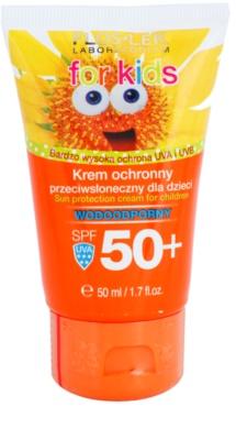 FlosLek Laboratorium Sun Care crema protectora para niños SPF 50+