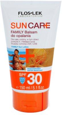 FlosLek Laboratorium Sun Care balsam pentru bronzare pentru copii si adulti  SPF 30