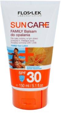 FlosLek Laboratorium Sun Care bálsamo bronzeador para crianças e adultos SPF 30