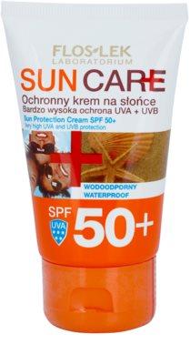 FlosLek Laboratorium Sun Care zaščitna krema SPF 50+