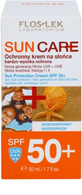 FlosLek Laboratorium Sun Care crema protectora SPF 50+ 2