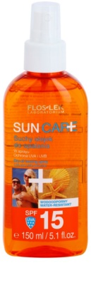 FlosLek Laboratorium Sun Care aceite seco solar en spray SPF 15