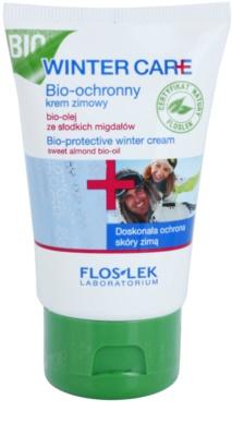FlosLek Laboratorium Winter Care bio zaščitna zimska krema z mandljevim oljem