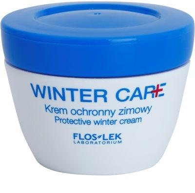 FlosLek Laboratorium Winter Care захисний крем для зимового періоду для чутливої шкіри