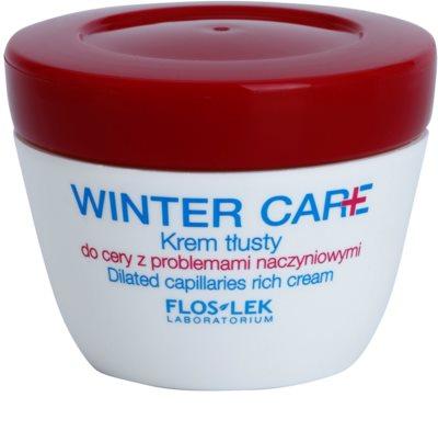 FlosLek Laboratorium Winter Care gazdag védőkrém Érzékeny, bőrpírra hajlamos bőrre