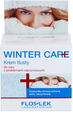 FlosLek Laboratorium Winter Care bohatý ochranný krém pro citlivou pleť se sklonem ke zčervenání 2