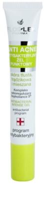 FlosLek Pharma Anti Acne antibakterielles Gel zur lokalen Behandlung