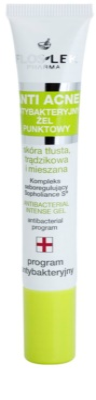 FlosLek Pharma Anti Acne gel antibacteriano para aplicação local