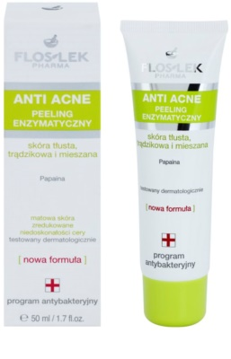 FlosLek Pharma Anti Acne Enzym-Peeling 1