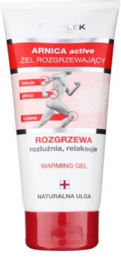 FlosLek Pharma Arnica Active затоплящ гел за релаксация на мускултеи и ставите