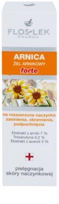 FlosLek Pharma Arnica Forte nyugtató gél a pirosodásra hajlamos arcra 2