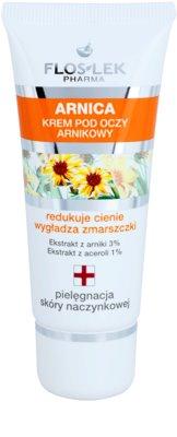 FlosLek Pharma Arnica crema de ojos contra las ojeras y arrugas