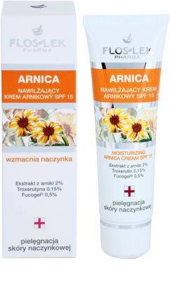 FlosLek Pharma Arnica Feuchtigkeitscreme SPF 15 1