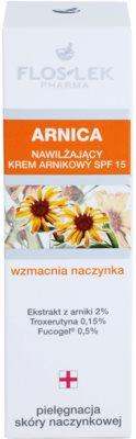 FlosLek Pharma Arnica Feuchtigkeitscreme SPF 15 2