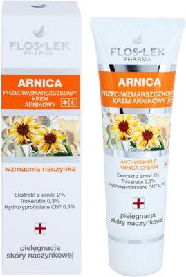 FlosLek Pharma Arnica krema za obraz proti gubam 1