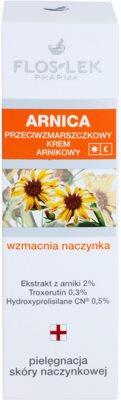 FlosLek Pharma Arnica krema za obraz proti gubam 2