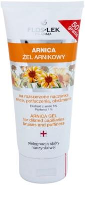 FlosLek Pharma Arnica gyógyító gél horzsolások, zúzódások és duzzanatok ellen