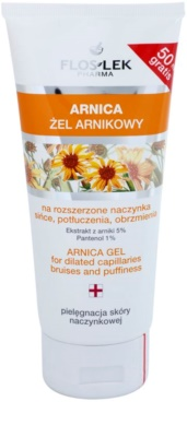 FlosLek Pharma Arnica heilendes Gel gegen blaue Flecken, Prellungen und Schwellungen