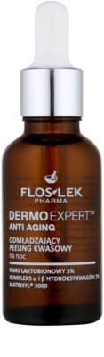 FlosLek Pharma DermoExpert Acid Peel омолоджуючий нічний догляд-ексфоліант