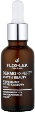 FlosLek Pharma DermoExpert Acid Peel освітлюючий нічний догляд проти пігментних плям