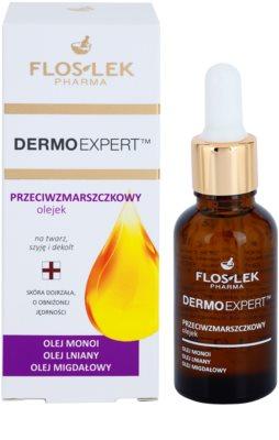 FlosLek Pharma DermoExpert Oils Hautöl mit Antifalten-Effekt 1
