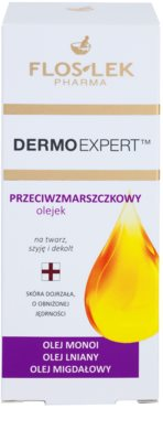 FlosLek Pharma DermoExpert Oils Hautöl mit Antifalten-Effekt 2