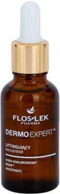 FlosLek Pharma DermoExpert ser cu efect de lifting pentru fata, gat si piept
