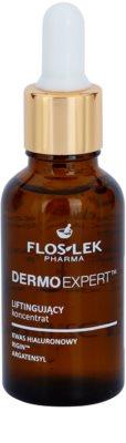FlosLek Pharma DermoExpert sérum lifting para rosto, pescoço e decote