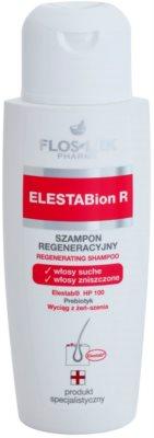 FlosLek Pharma ElestaBion R champô regenerador para cabelo seco a danificado
