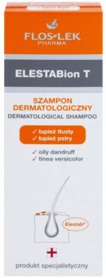 FlosLek Pharma ElestaBion T dermatologický šampon proti mastným lupům 2